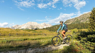 Mountain bike in Val di Fiemme