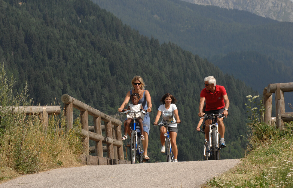 Fahrradwege im Val di Fiemme / Fleimstal, Trentino