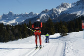 Dolomites, Ski, Cross Country Skiing, Fiemme, Trentino, Lavazè | © visitfiemme