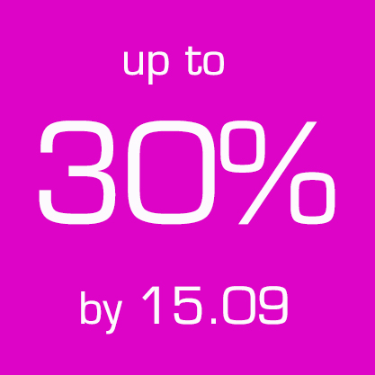 Up to 30% by 15.09