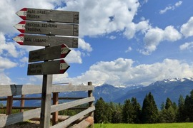 Excursion to reach Malghette (alpine diary)