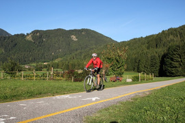 Fiemme and Fassa Dolomites cycle route
