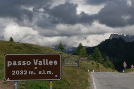 Giro d'Italia -  P.so Valles