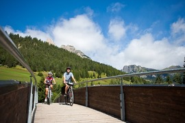 Fassa cycle path